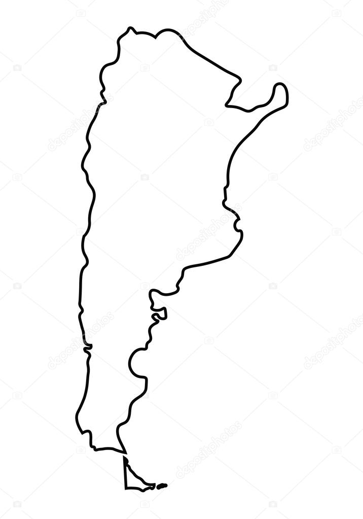 英国地图手绘轮廓