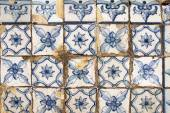 Traditional portugese tiles background — Стоковое фото