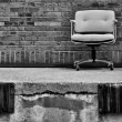 Dock chair — Stock Photo #59030089