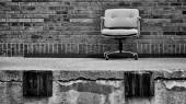 Dock chair — Fotografia Stock