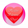 Постер, плакат: Happy Valentines Day icon