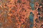 Metal corroded texture of rust colors. — Zdjęcie stockowe