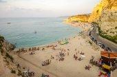 Panorama over Tropea Coastline — Stock Photo