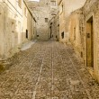 Stone Paved Old Street in Erice, Sicily — Stock Photo #57345837