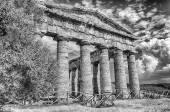 Greek Temple of Segesta — Stock Photo