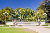 Beverly HIlls Sign, Los Angeles, California — Stock Photo