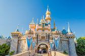 Sleeping Beauty Castle at Disneyland Park. — Stock Photo