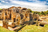 Ruins of the Great Baths at Villa Adriana (Hadrian's Villa), Tiv — Stock Photo