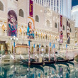 Gondola Rides at The Venetian Luxury Hotel and Casino in Las Veg — Stock Photo #71923891