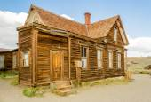 Abandoned Ranger Station in the Gold Mining Ghost Town of Bodie, — Stock Photo
