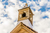 Bell Tower in the Gold Mining Ghost Town of Bodie, California — Stock Photo