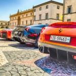 Ferrari Gathering — Stock Photo #78306844