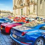Ferrari Gathering — Stock Photo #78307708