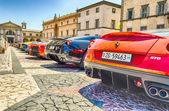 Ferrari Gathering — Stock Photo