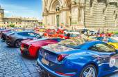 Ferrari Gathering — Stock Photo