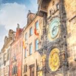 Prague clock tower — Stock Photo #52834301