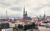 Riga latvia capital city — Stock Photo