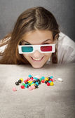 3d drugs for a geek — Stock Photo