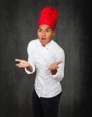 Male chef cook — Stock Photo