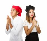 Cook couple — Stock Photo