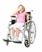 Look no evil for handicap child — Foto de Stock
