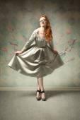 Beautiful woman — Foto Stock