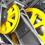 Funicular mechanism — Stock Photo #52744623