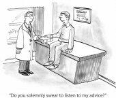 Doctor's Diagnosis — Stock Photo