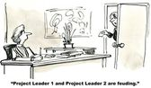 Project Leaders — Stock Photo