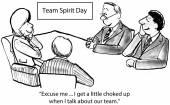 Team Spirit — Stock Photo