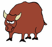 Bull Market — Stock Vector