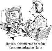Communication skills — Stock Vector