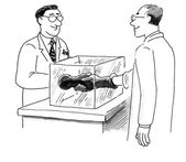 Sterile gloves — Stock Vector