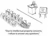 Speaker share expertise — Stock Vector
