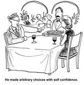 Arbitrary choices — Stock Vector