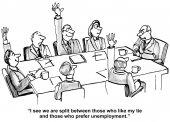 Team must like tie — Stock Vector