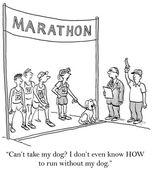 Marathon — Stock Vector