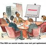 ROI on Social Media — Stock Vector #63275567
