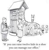 Jeśli możesz podnieść dwunastu dzieci w bucie — Wektor stockowy
