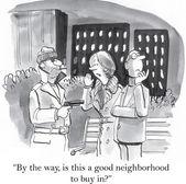 Good neighborhood — Stock Vector