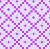 Pink knitting pattern — Stock Vector