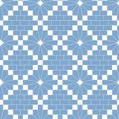 White knitting pattern — Stock Vector