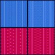 Set of striped patterns — Stock Vector #77269908