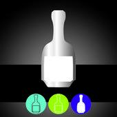 Daily Bottle — Stock Vector