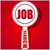 Job concept — Stock Vector