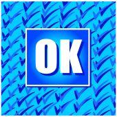 Ok l'icône — Vecteur