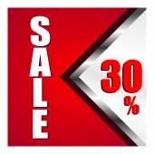 Sale percent — Stock Vector