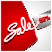 Sale percent — Stock vektor