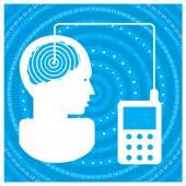 Globální komunikace — Stock vektor