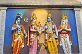 Wedding ceremony of Shri Krishna and Rukmini — Stock Photo